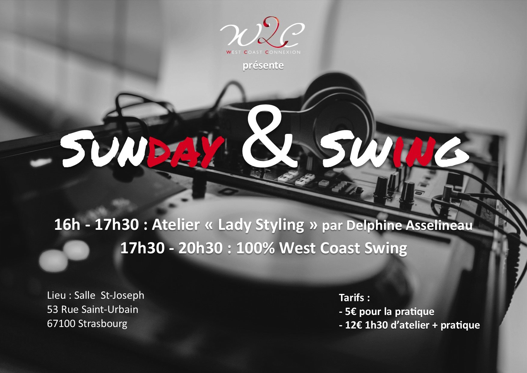 Sunday & Swing avec atelier