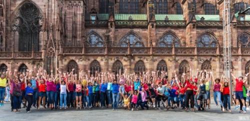 2016.09 - Flashmob International de WCS